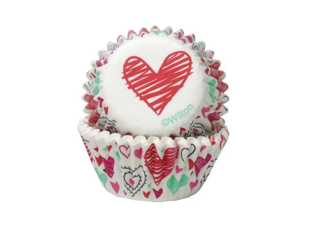 Wilton Spread the Love Mini Cupcake Cases 100pk