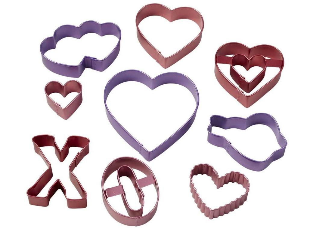 Wilton Sweetheart 9pc Cookie Cutter Set