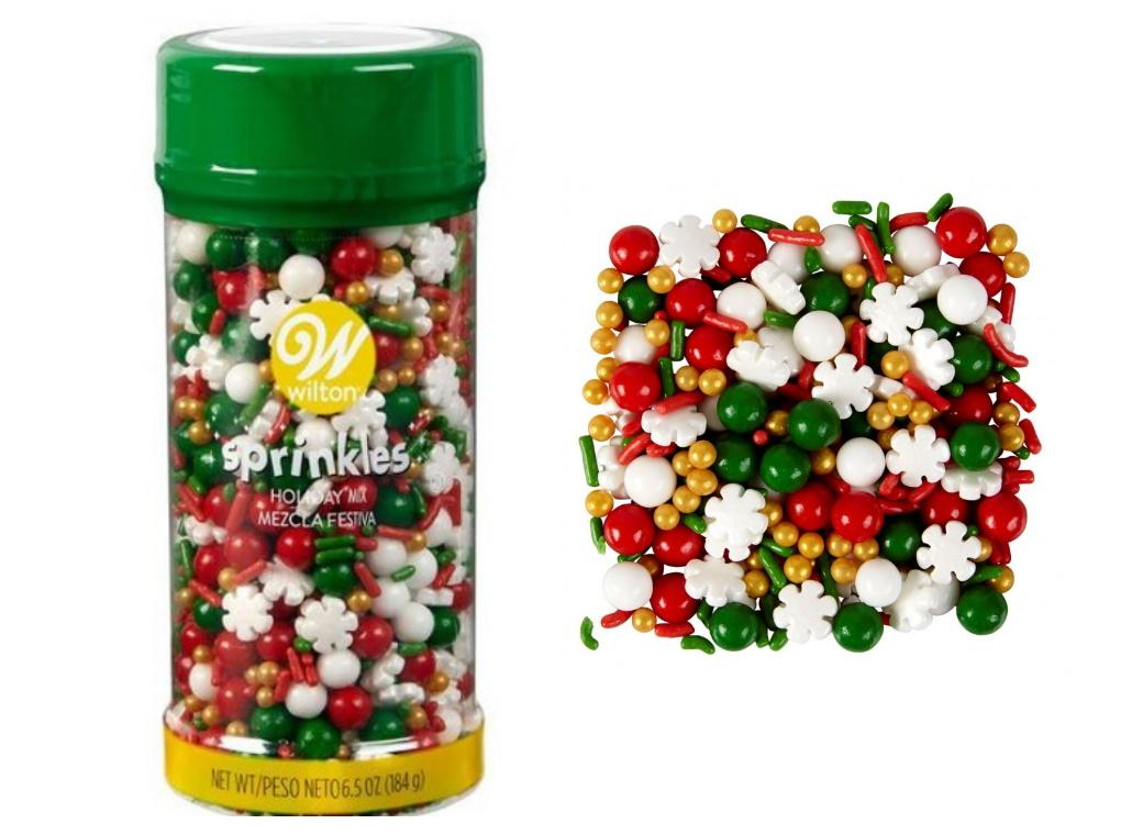 Wilton Traditional Christmas Sprinkles Large