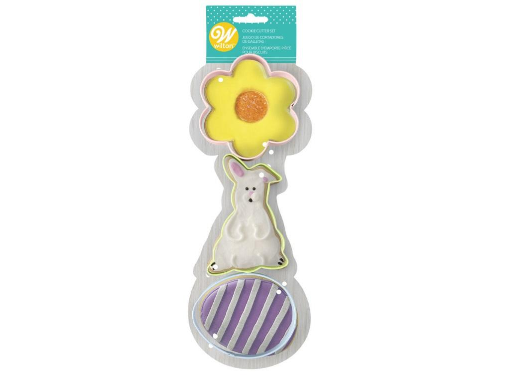 Wilton Traditional Easter 3pce Cutter Set