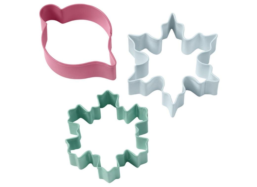 Wilton 3pce Vintage Christmas Cookie Cutter Set