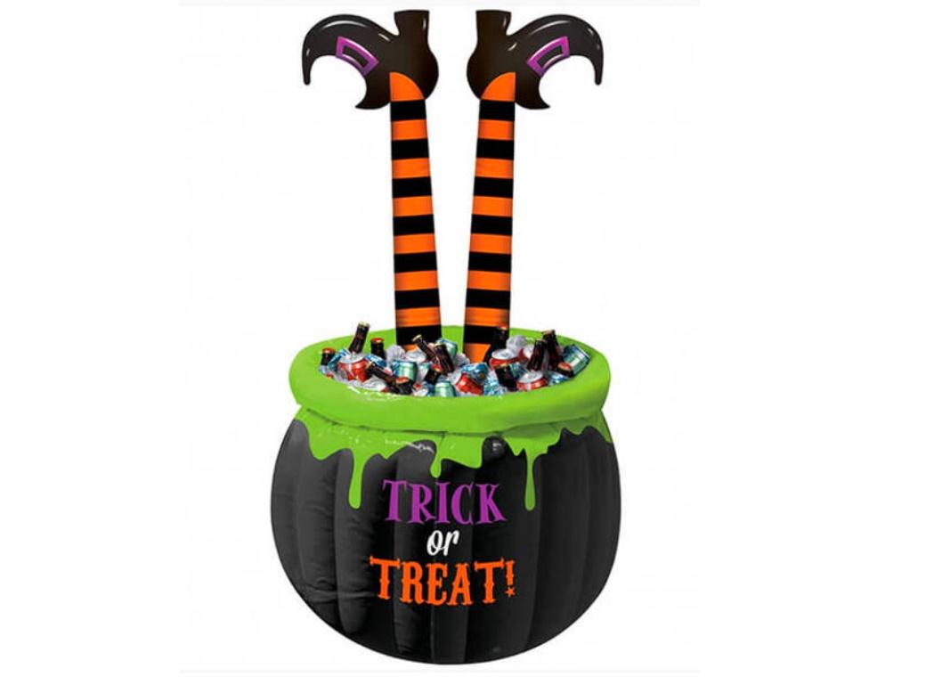 Witch's Legs Inflatable Drinks Cooler