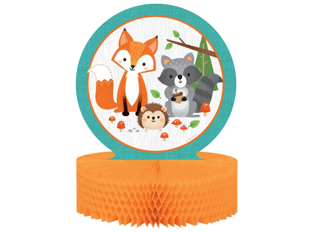 Woodland Animals Table Centrepiece