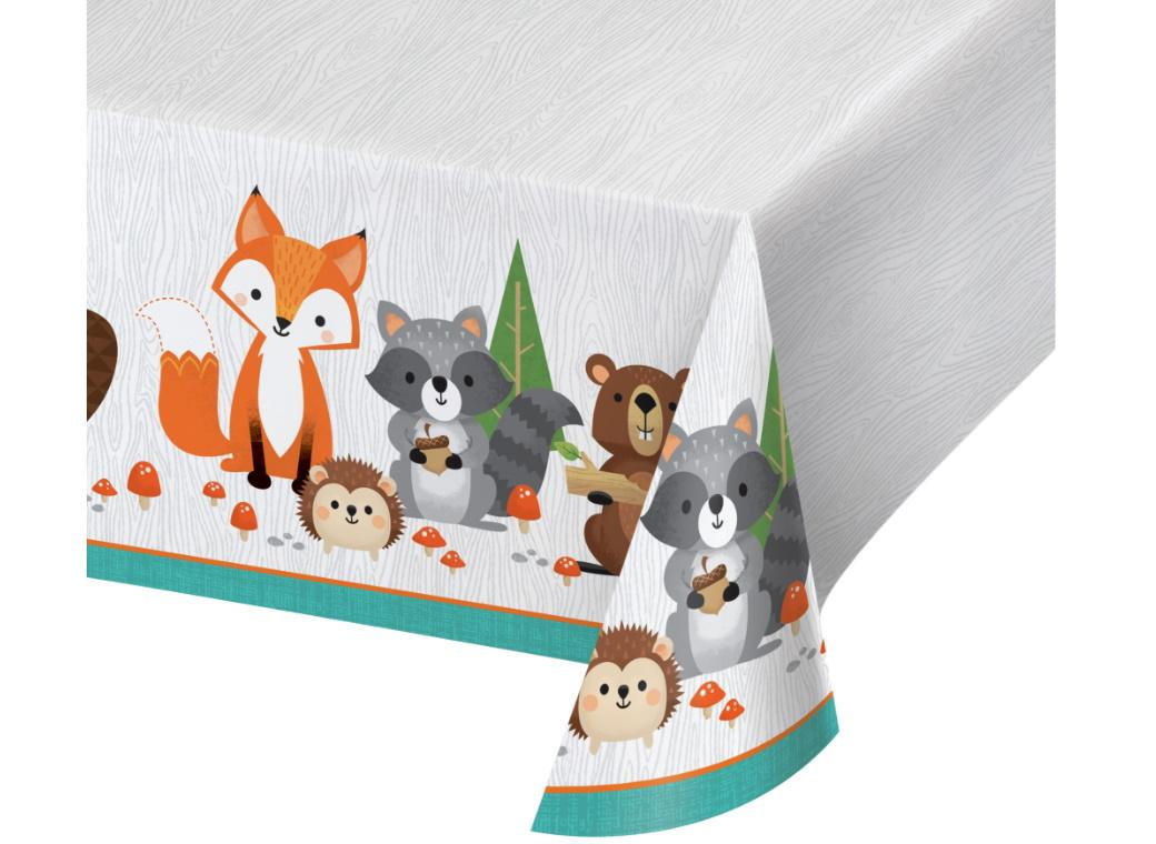 Woodland Animals Table Cover