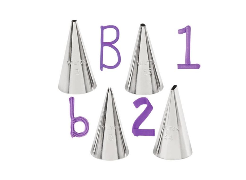 Wilton 4 pce Writing Tip Set
