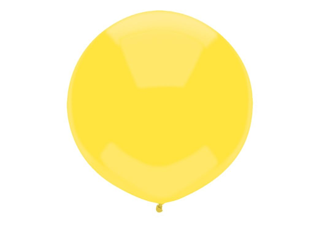 43cm Balloon - Sun Yellow
