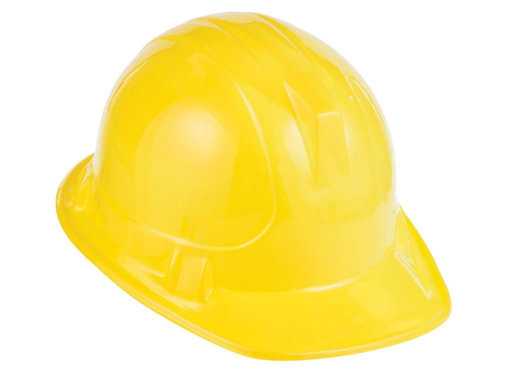 Child's Yellow Hard Hat