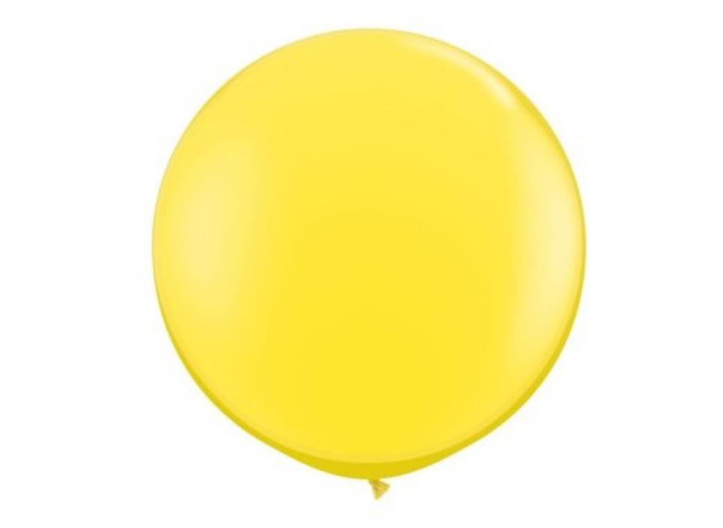 Jumbo Balloon - Yellow