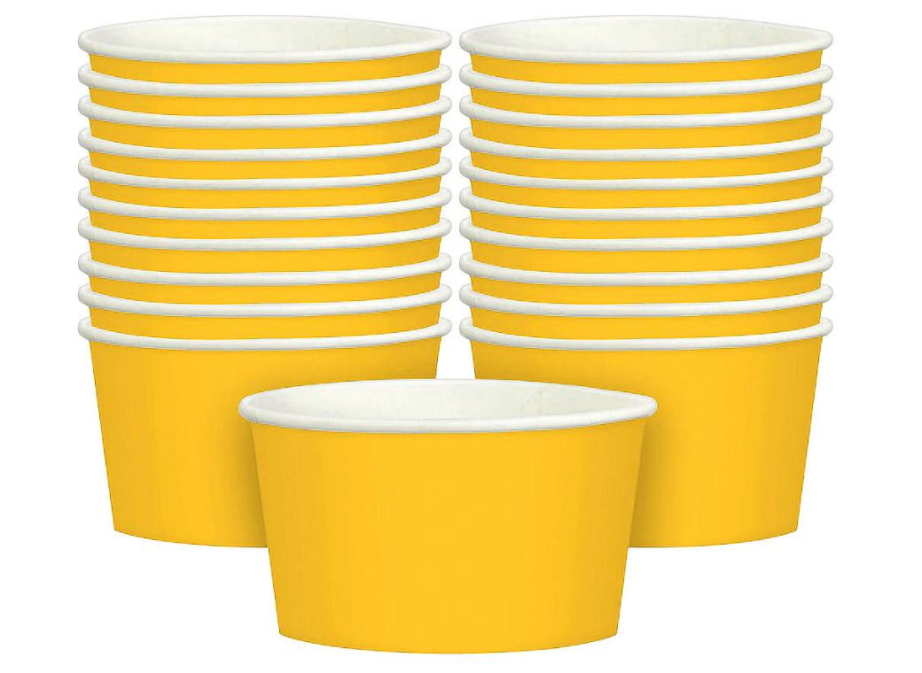 Treat Cups 20pk - Yellow