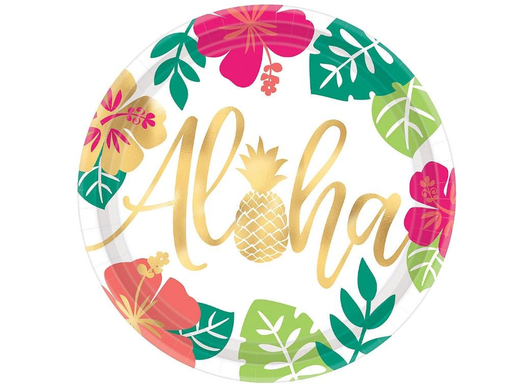 You Had Me at Aloha Dinner Plates 8pk