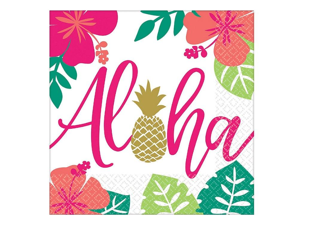 You Had Me at Aloha Lunch Napkins 16pk