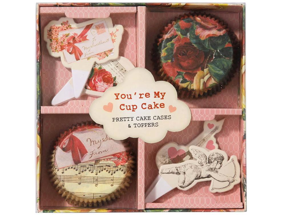 You're My Cupcake - Cases & Toppers Set